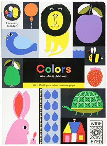 COLORS-LIFT FLAP (Learning Garden)