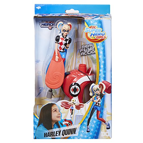 DC Comics Flying Heroes 52389 - Juguete Harley Quinn