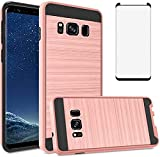Asuwish Compatible with Samsung Galaxy S8 Plus Case