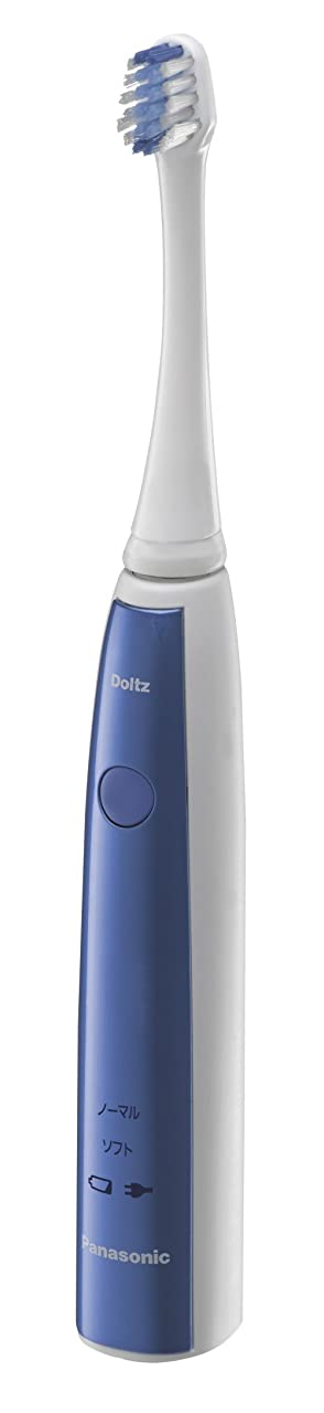 普及だらしない効能あるパナソニック 電動歯ブラシ ドルツ 青 EW-DL12-A