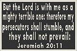 Jeremiah 20:11 Patch...image