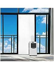 Rhodesy Fensterabdichtung Für Mobile Klimageräte und Abluft-Wäschetrockner, Passend zu Jedem Klimagerät und Allen Schlauchgrößen