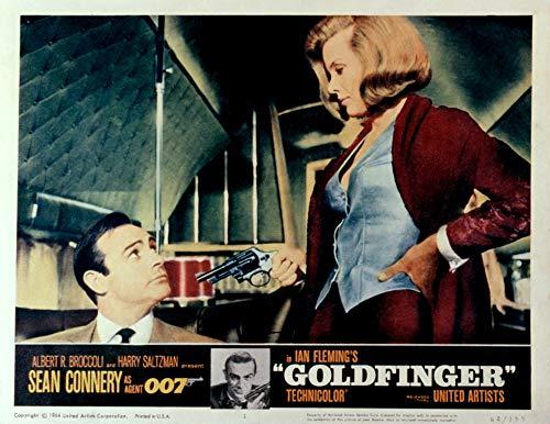 Posterazzi EVCMSDGOLDEC055 Goldfinger, Sean Connery, Honor Blackman, 1964, stampa fotografica 8 x 10, multicolore