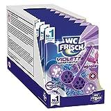 WC FRISCH Violett Kraft Aktiv Magnolie, WC-Reiniger und Farbspüler, 10er Pack (10 x 1 Stück)