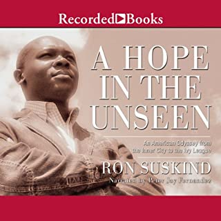 A Hope in The Unseen audiobook cover art