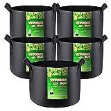 5 pack of 3 gallon smart pots