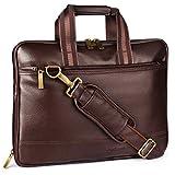 """Aircase C53 Vegan Leather 13.3"""" Multifunction Laptop Bag (Brown)"""