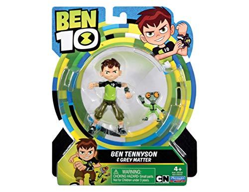 Giochi Preziosi Ben 10 Personaggio, 13 cm, Ben & Materia Grigia, BEN00200