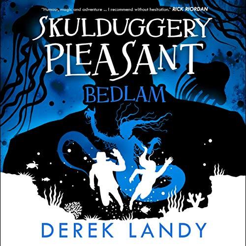 Bedlam audiobook cover art