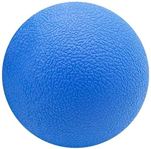 Afslanking blauwe spieren bal fitness ontlasten gym enkele bal massage bal training fasccia hockey-bal 6,3 cm massage fitness bal relax