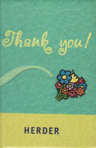 Thank you!: Schlüsselworte zur Dankbarkeit