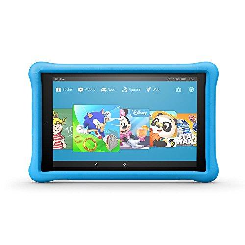 Kindgerechte Amazon FreeTime-Hülle für Fire HD 10 (10-Zoll-Tablet, 7. Generation - 2017), Blau
