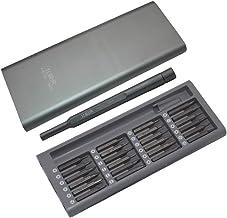 ZHTY Juego de Puntas de Destornillador de precisión 24 en 1 Kit de Destornillador magnético de Acero S2 para teléfono móvil Juego Tableta PC Herramienta de reparación electrónica