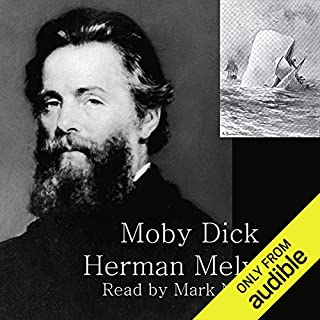 Moby Dick: or the Whale audiobook cover art