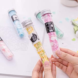 PARTEET Flower Design Tube Shape Bottle Paper Soap Clean Soft Bath For Travel (Pack Of 2)(ASSORTED)