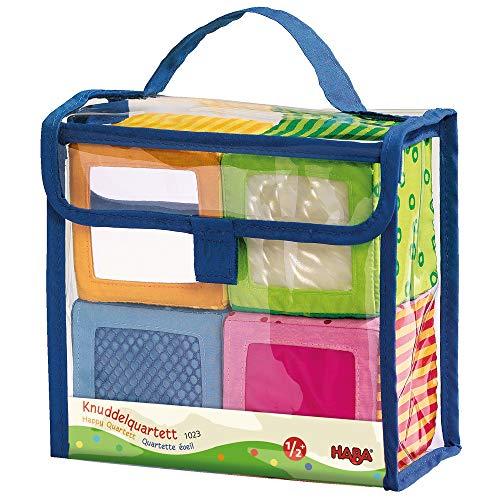 Cubes d'éveil en tissu - Haba