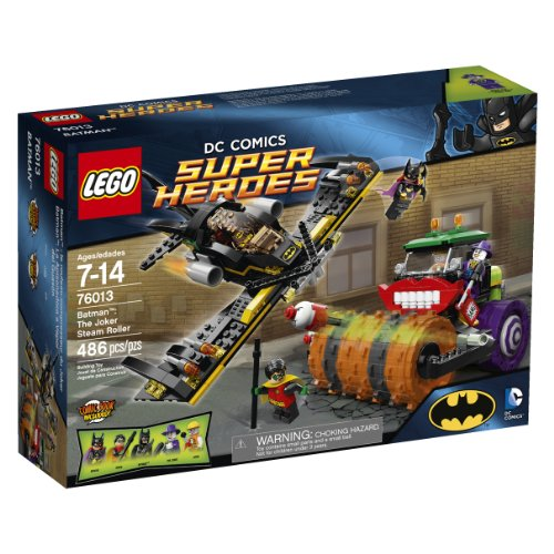 LEGO Superheroes Batman: The Joker Steam Roller