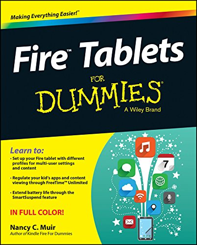 Fire Tablets For Dummies (For Dummies Series)