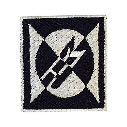 REAL EMPIRE Parche bordado de metal para coser o planchar con el...