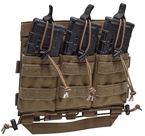 Tasmanian Tiger Carrier Mag Panel M4 Coyote, L/XL, Coyote