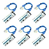 CFIKTE VER 008S PCI-E Express Cable 1X to 16X...