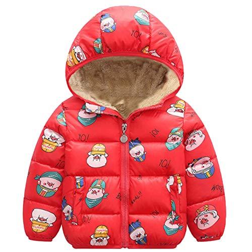 Niño Niño Bebé Niña Niño Sudadera con Capucha Tops Animal De Dibujos Animados Abrigo con Capucha Chaqueta Outwear Ropa Cálida Ropa Invierno Casual
