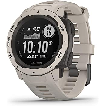 Garmin Instinct Tundra Sportwatch GPS, Regular, Bianco