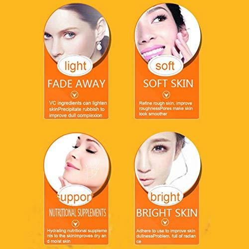 Siero viso idratante, siero viso vitamina C siero viso antietà multiplo VC 30ml siero viso per per la cura della pelle del viso