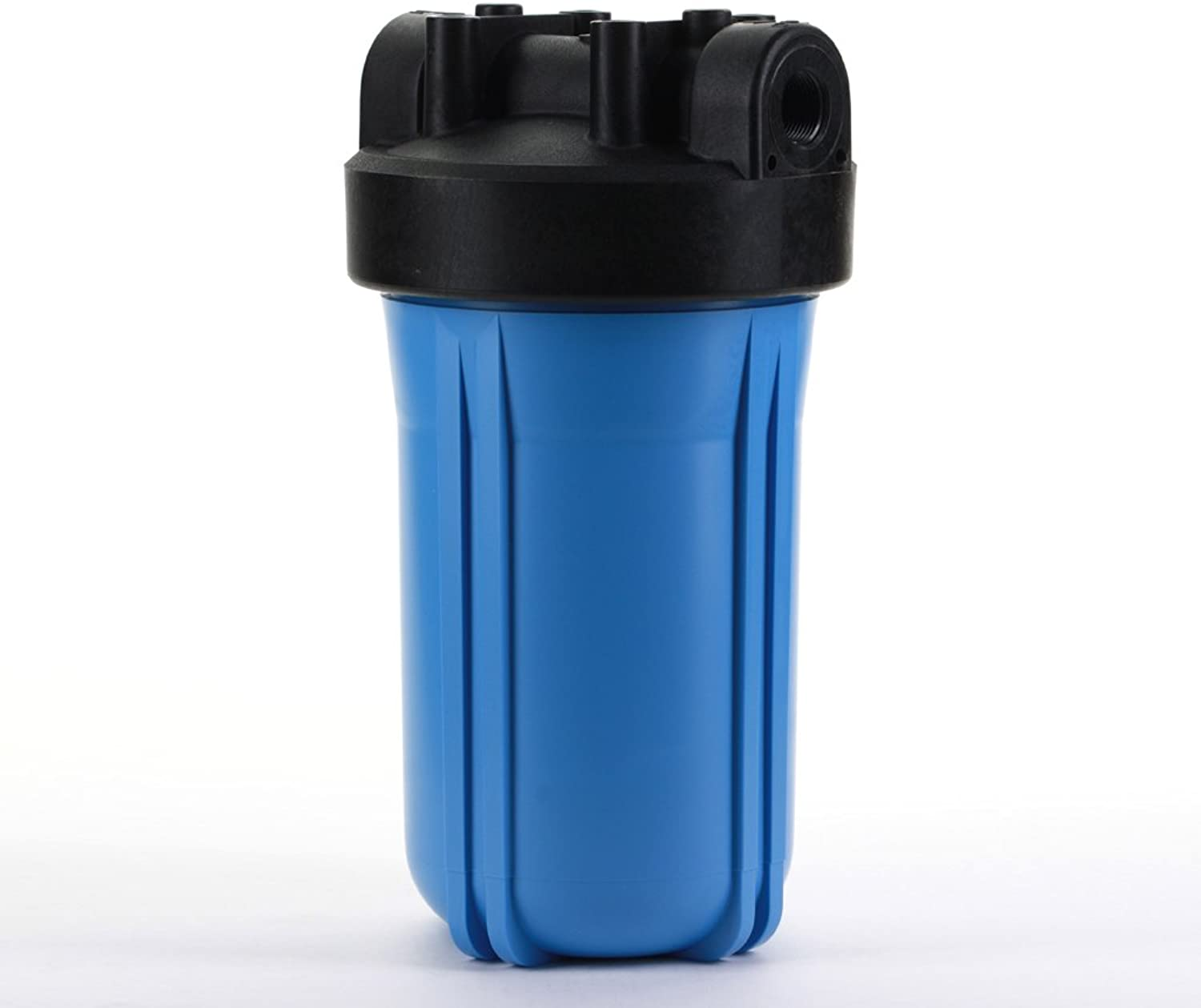 Hydronix HX-HF45-10BLBK34 Water Filter Housing Nsf Listed 10  Big bluee Size-3 4  Ports, bluee Black