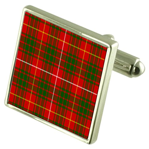 Select Gifts Clan écossais Bruce Sterling Silver Cufflinks