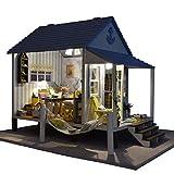 Miniatur 3D Gewächshaus Bastelsets,DIY Miniatur Puppenhaus, Happiness Coast Series Beach House &...