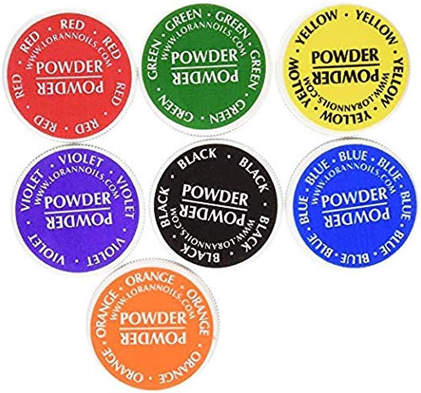 LorAnn Food Coloring Powder 1 2 Ounce Set Of 7 Colors