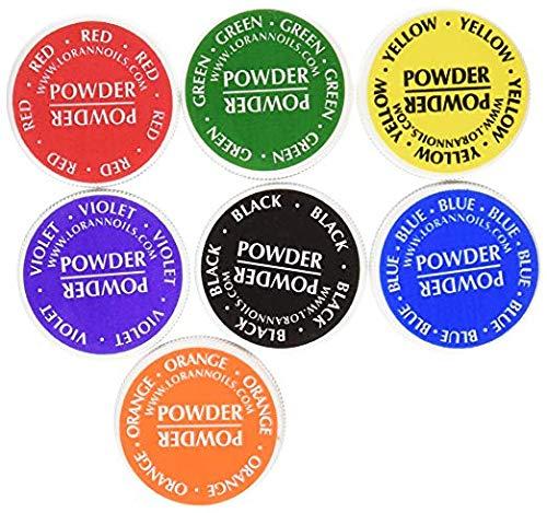 LorAnn Food Coloring Powder ½ Ounce, Set of 7 Colors