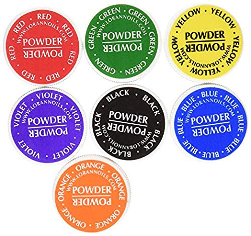 LorAnn Lebensmittelfarbe Pulver, Set von 7 Farben