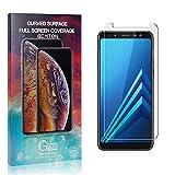 GIMTON Trasparente Vetro Temperato per Galaxy A8 Plus 2018, Nessuna Bolla, Anti Impronte, Pellicola Protettiva in Vetro Temperato, 0.26mm Ultra Sottile, 2 Pezzi