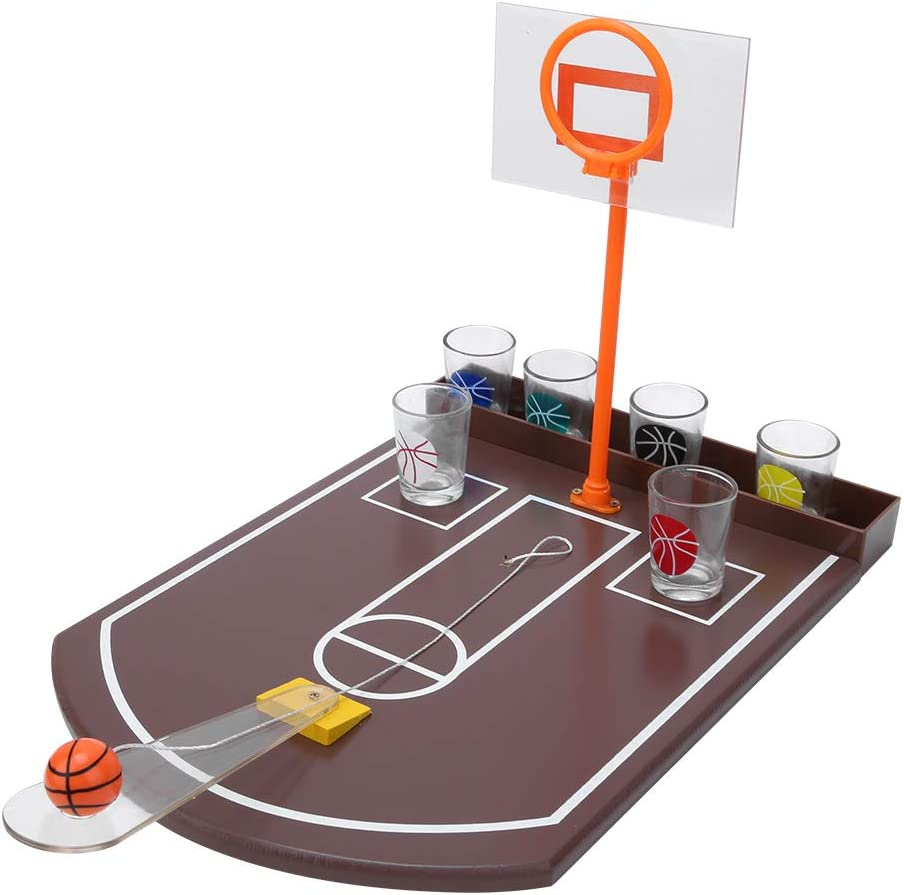 Basketball Drinking Game, Completely Drinking Game Kit Table Dri