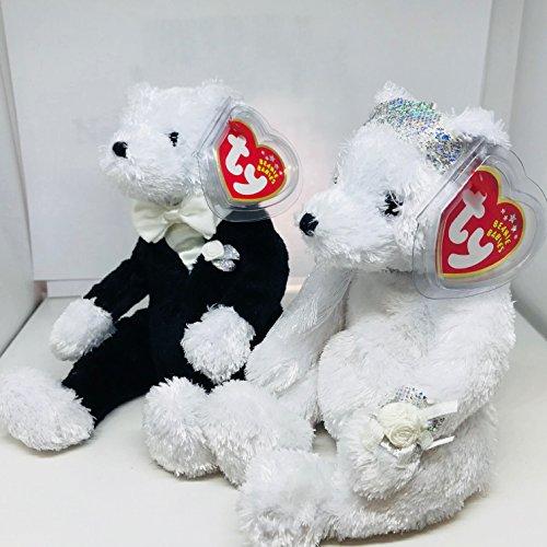 Ty Bride & Groom Beanie Babies Plush