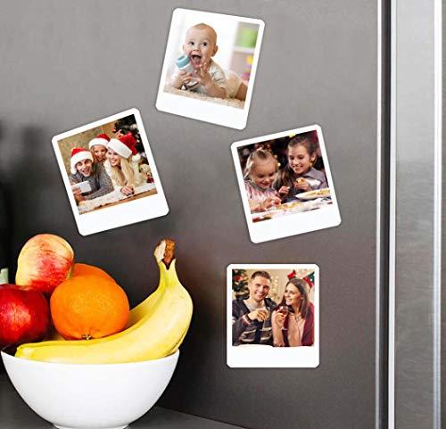 fotoaroma Imán con Foto Personalizado Estilo Polaroid/Imanes Flexibles Personalizados (Tamaño 8x10cm Pack de 6 Imanes)