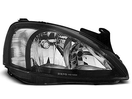 1 paar koplampen – Corsa C 00-06 design zwart (P30)