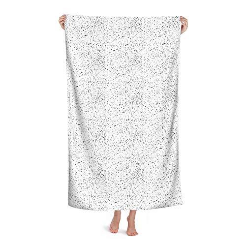 Patrón abstracto con manos caóticas toallas de playa para adultos súper absorbentes toallas de baño manta para viajes piscina camping