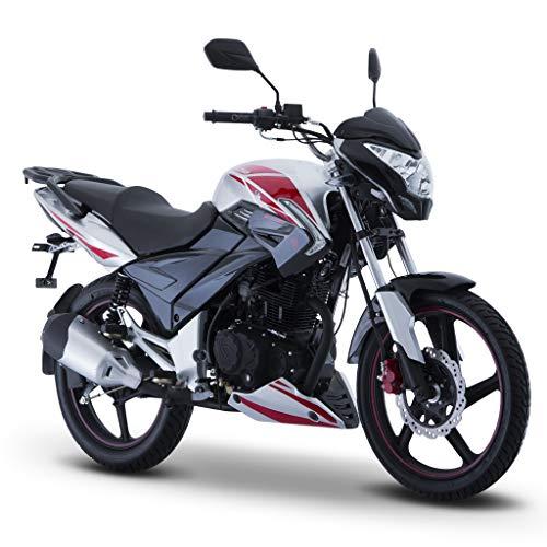 Motocicleta Italika de Trabajo- Modelo DT 250 Gris/Rojo