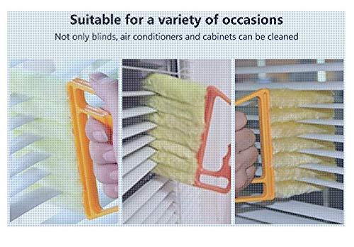 The best Handheld Air Conditioner Shutters Window Blind Brush Dust Cleaner Household Tool Brushes Washable & Removable Cleaning Tool