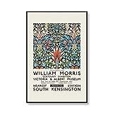 William Morris Blumenmalerei Drucke Ausstellung Poster