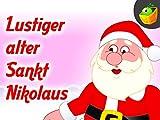 Lustiger alter Sankt Nikolaus