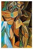 JH Lacrocon Amicizia 1908 di Pablo Picasso - 80X120 cm Dipinti Astratto a Mano Riproduzion...