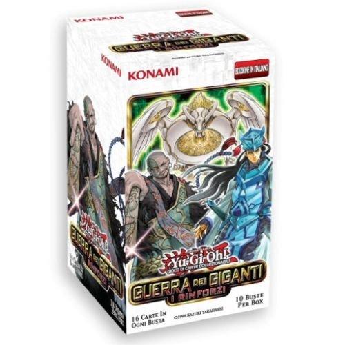 YU-GI-OH! BOX GUERRA DEI GIGANTI I RINFORZI 10 BUSTE da 16 carte in italiano