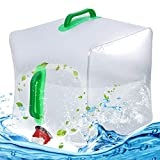 BESTZY Bidón de Agua Plegable Depósito de Agua...