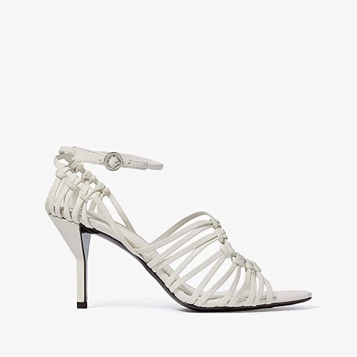3.1 Phillip Lim  Lily Strappy Sandal (Ivory) Womens Shoes