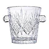 Zenglingliang Premium Eiseimer Eleganter Kristall-Eiskübel mit Griffen, Weinkühler, Glaseimer, Safe und perfekt for Ihre Hausbar Eisbehälter (Color : D)