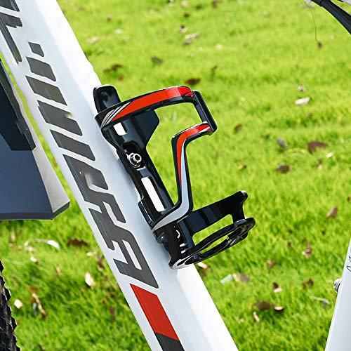 Guoc Portabidones para Botellas Soporte para Botellas de Agua para Bicicletas Paquete de para Tazas de Ciclismo Soportes,Soporte para Botella de Agua para Bicicleta